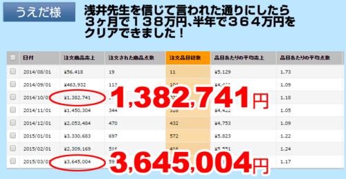 浅井式せどり塾・3ヶ月138万.PNG